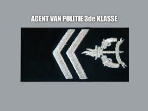 AGENT VAN POLITIE 3E KLASSE new