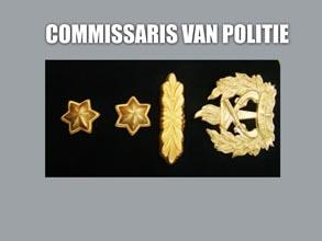 COMMISSARIS VAN POLITIE new