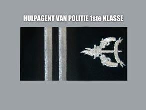 HULP AGENT VAN POLITIE 1E KLASSE new