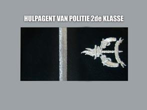 HULP AGENT VAN POLITIE 2E KLASSE new