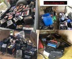 Diefstal van accu's leidt tot aanhouden verdachte met zwarte Toyota Brevis; 73 accu's in beslag genomen